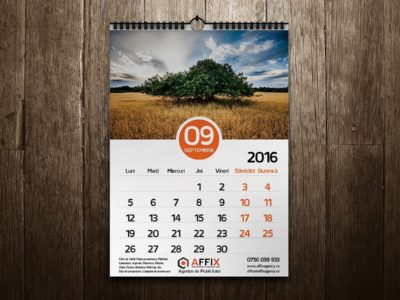 Calendar perete – Affix