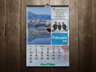 Calendar perete – Irigarden